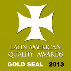 Latin American Quality Awards Gold Seal 2013 - LAQI